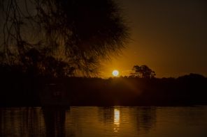 Sunset over Dawson River, Taree, NSW
